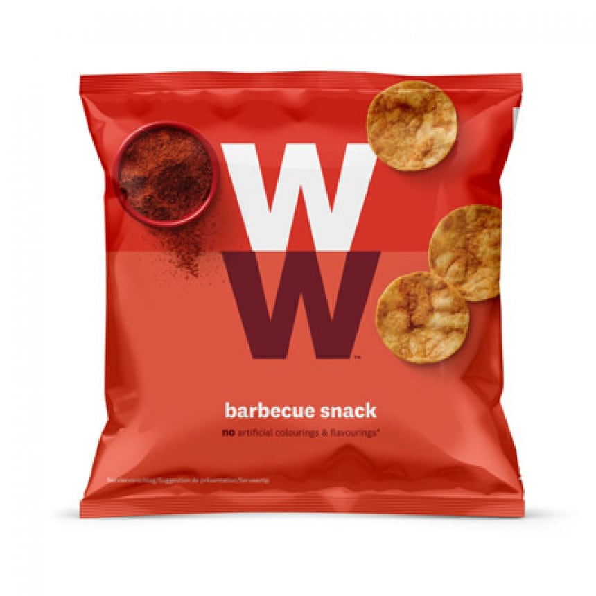 Barbecue Snack Chips