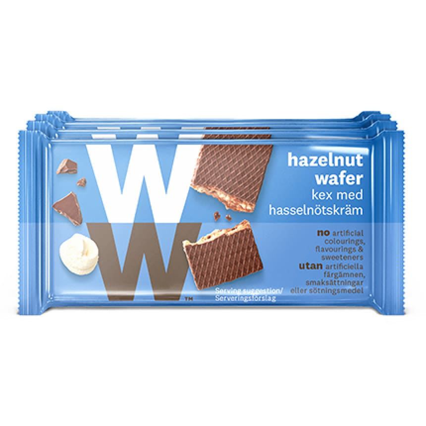 Nutty Break hazelnoot chocolade wafel