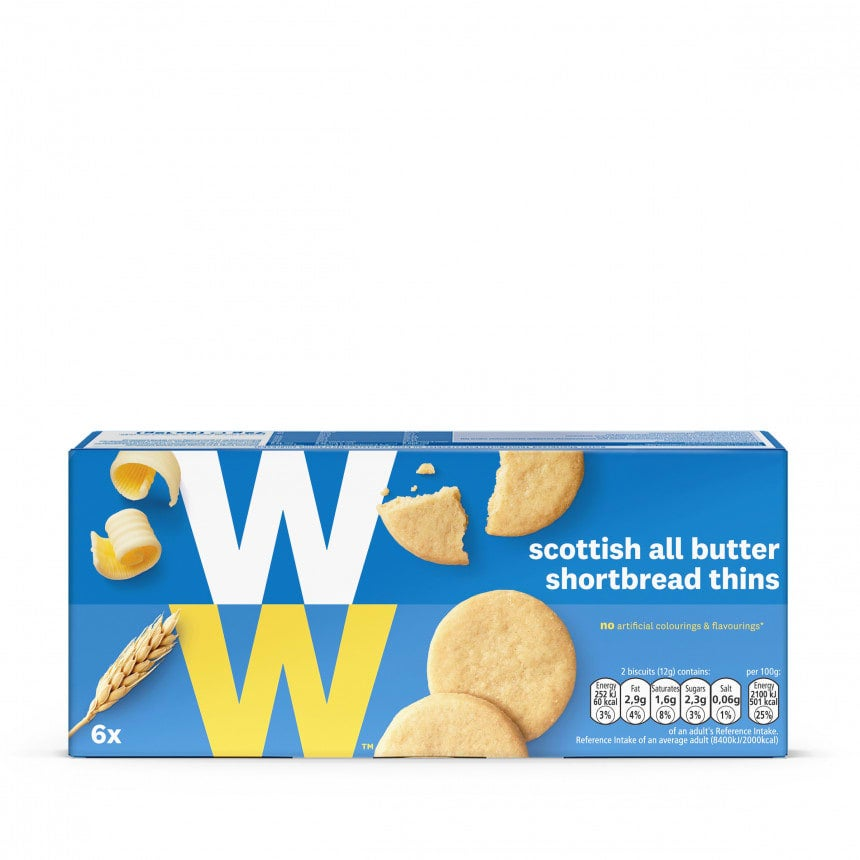 Scottish All Butter Shortbread Thins